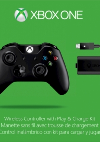Controle Xbox One + Play Charge